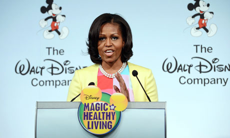 Michelle Obama Disney - for more healthy food